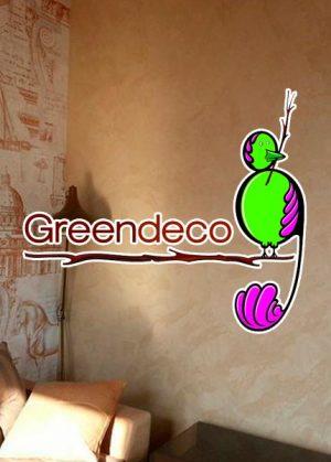 Декоративная краска и штукатурка «Greendeco»